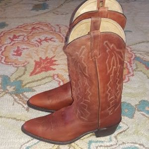 Men's dan post cowboy boots